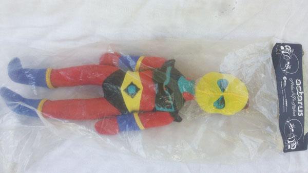 GOLDRAKE ACTARUS UFO ROBOT FANNY PUPAZZO 1970 ORIGINALE IN BUSTA  Act_pu11