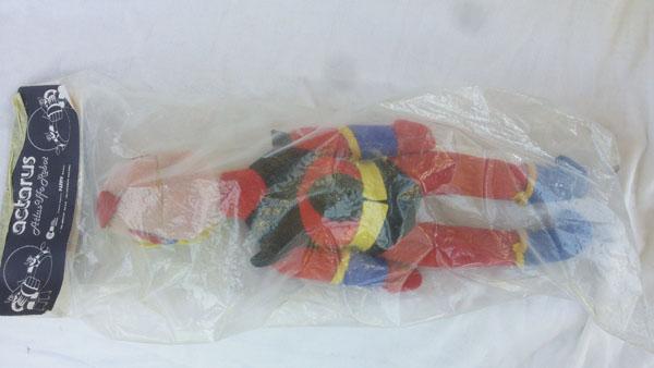 GOLDRAKE ACTARUS UFO ROBOT FANNY PUPAZZO 1970 ORIGINALE IN BUSTA  Act_pu12