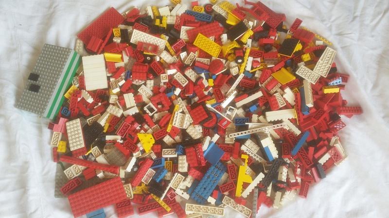 LEGO SYSTEM COSTRUZIONI SUPER SET IN BOX ANNO 1969 VINTAGE TOYS COD 088 RARO L_210