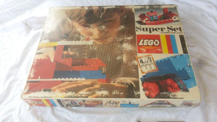 LEGO SYSTEM COSTRUZIONI SUPER SET IN BOX ANNO 1969 VINTAGE TOYS COD 088 RARO Lego_s10