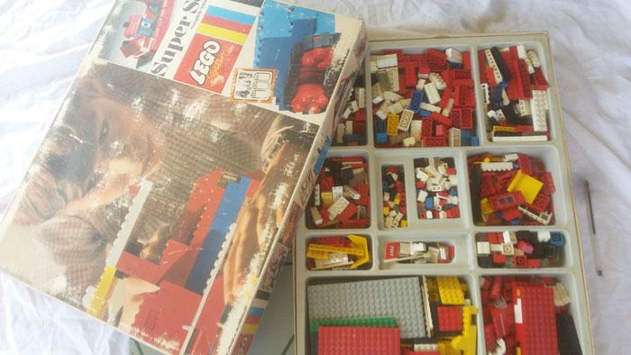 LEGO SYSTEM COSTRUZIONI SUPER SET IN BOX ANNO 1969 VINTAGE TOYS COD 088 RARO Lego_s12