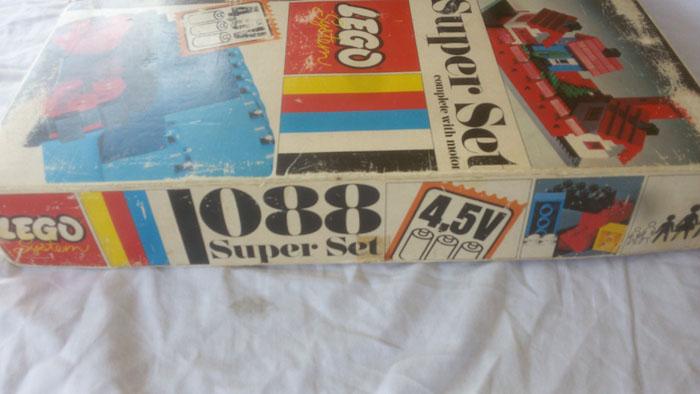 LEGO SYSTEM COSTRUZIONI SUPER SET IN BOX ANNO 1969 VINTAGE TOYS COD 088 RARO Lego_s13