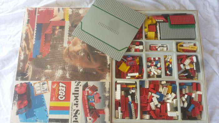 LEGO SYSTEM COSTRUZIONI SUPER SET IN BOX ANNO 1969 VINTAGE TOYS COD 088 RARO Lego_s14