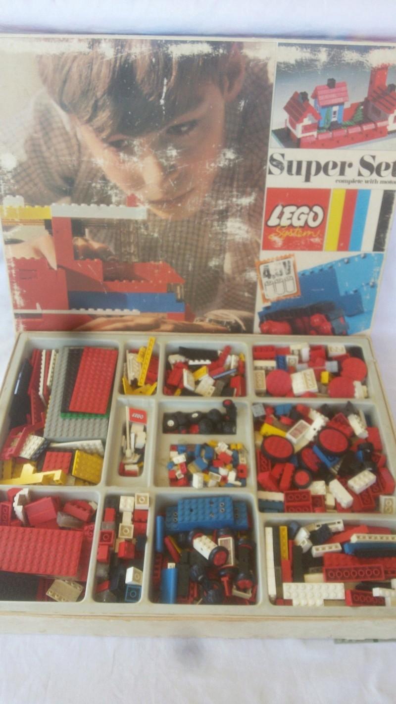 LEGO SYSTEM COSTRUZIONI SUPER SET IN BOX ANNO 1969 VINTAGE TOYS COD 088 RARO Legoo_10