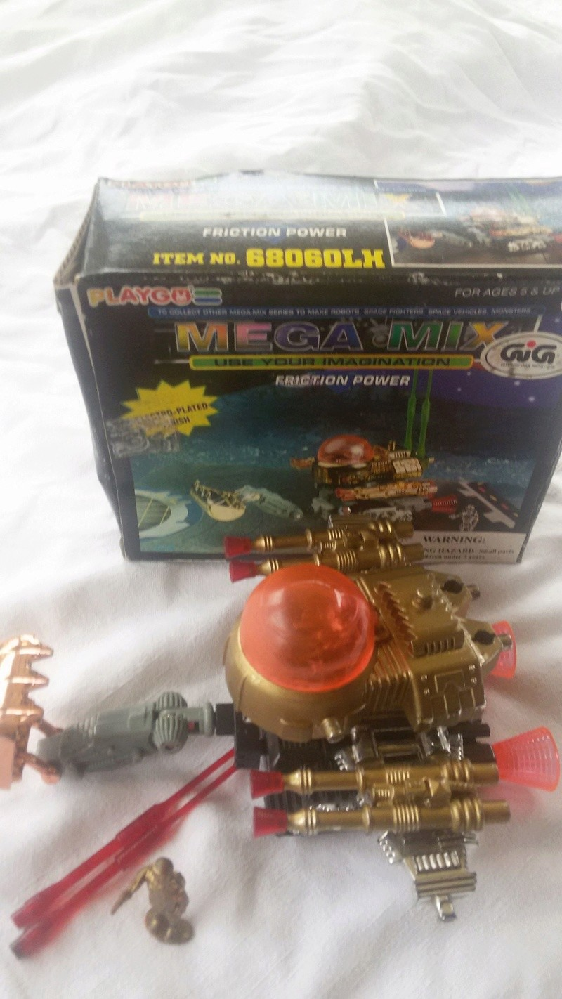 VINTAGE PLAYGO MEGA MIX ROBOT CHOKING GIG GALAXY SPACE WARRIOR TOYS VINTAGE Playgo11