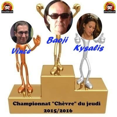 """Résultat Championnat """" Chêvre """" septembre 2015 à janvier 2016 Champi10"""