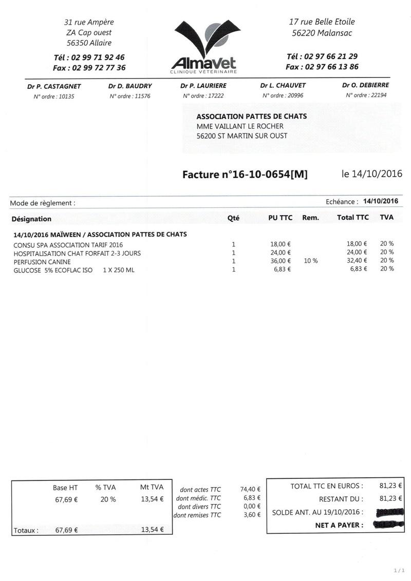 aide factures vétérinaire pour pattesdechats Ccf19112