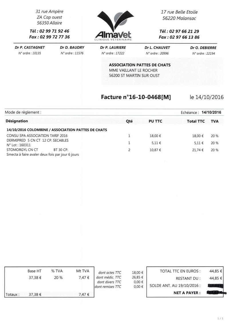 aide factures vétérinaire pour pattesdechats Ccf19114