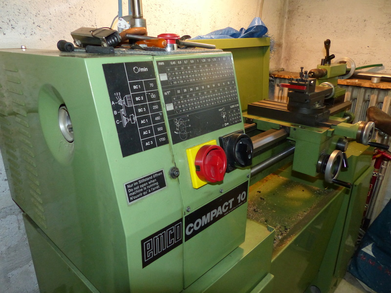 Tour EMCO compact 10 P1020413