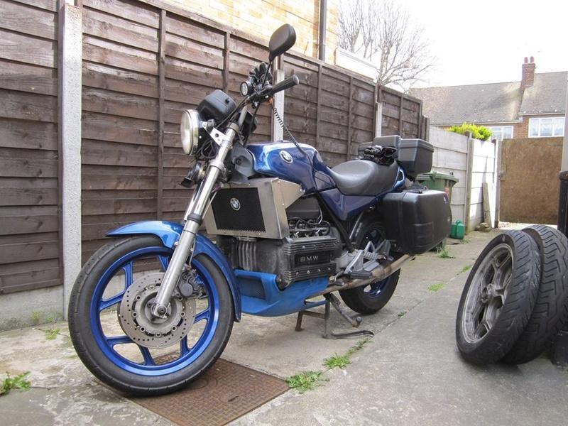 Custom 1987 K100RS K10010