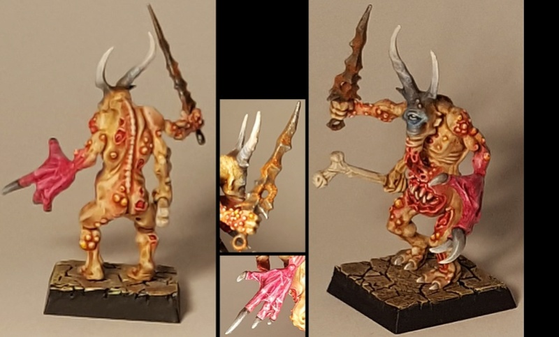 warband - New possessed warband in the making Mutant11