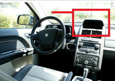 Ecran intérieur DVD Caméra Dodge Journey  Dodge10