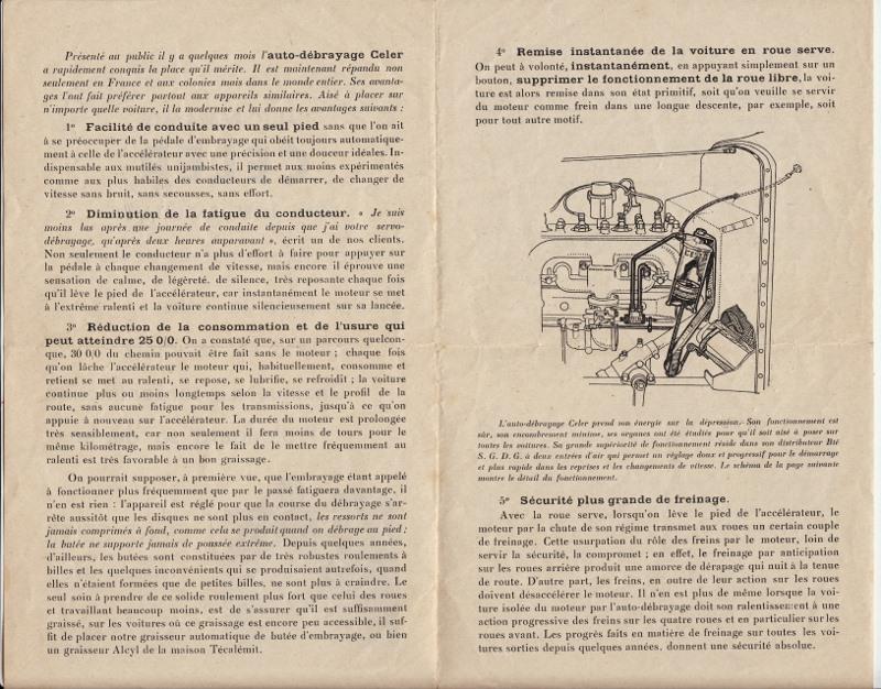Auto-débrayage CELER, Ets CELER à Levallois-Perret 1938... Auto-d10