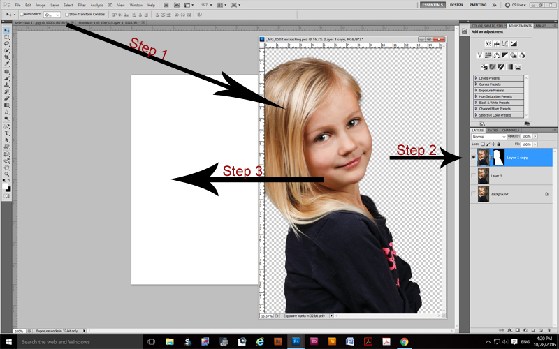 Extraction - How To Insert Your Extraction Into Another Image Select20