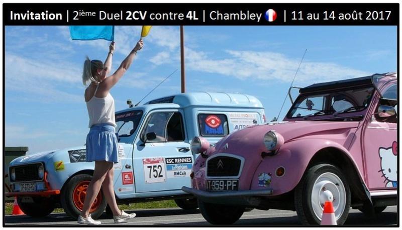 2 ième Duel 2Cv contre 4L | Chambley | 11 au 14 août 2017 Invita10