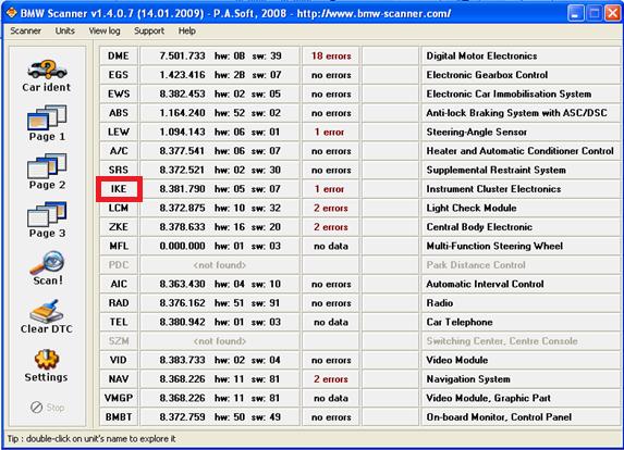 Changement de langue GPS MKII après MAJ 210