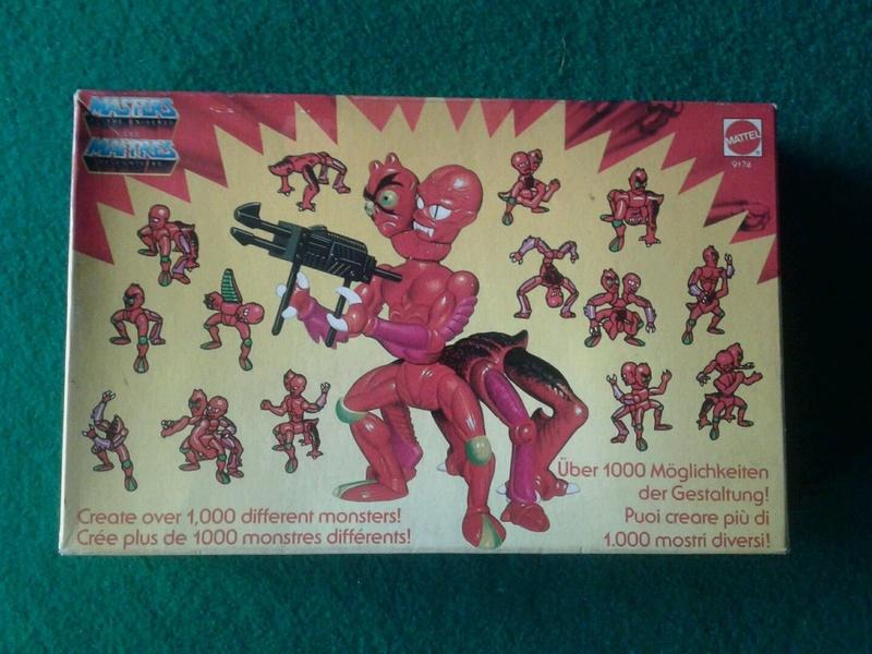 Vendo Modulok e Multi-bot anni 80 Mattel nuovi mai aperti fondo di magazzino Modulo10