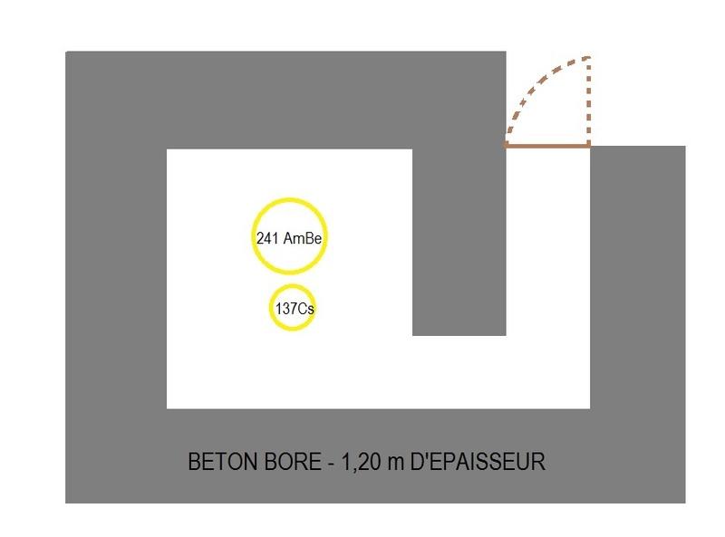 dimensionnement local de stockage pour SS 214Am-Be et 137Cs Stocka10
