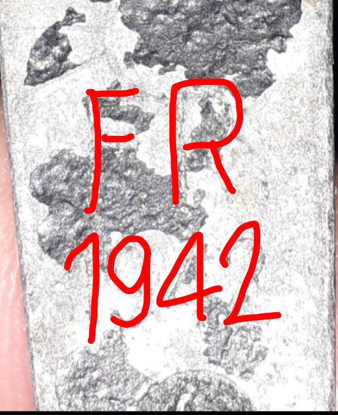 Marquage FR téléphone allemand modèle 33 42734711