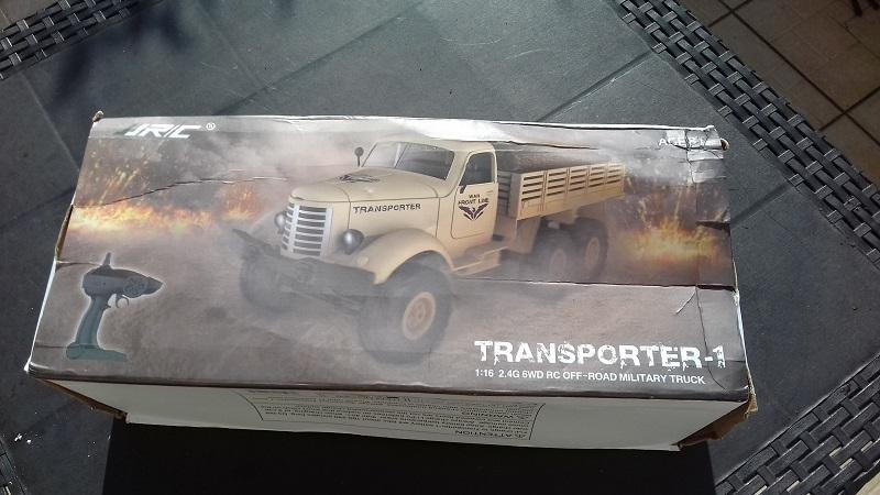 JR/C 1/16 Transporter-1 en 6x6 RTR. 20180912