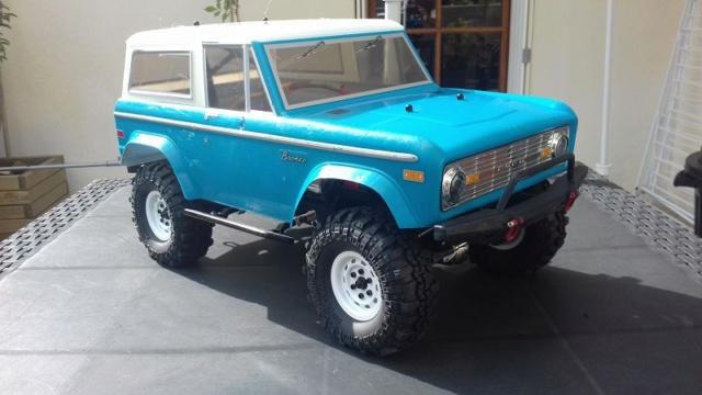 Mon Vaterra Ford Bronco. 20181020