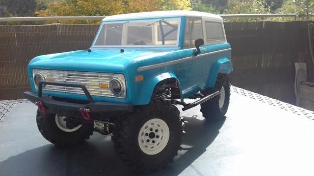 Mon Vaterra Ford Bronco. 20181022