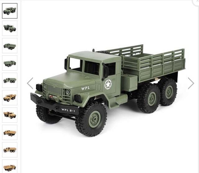 CR4-truck 1:16 Wpl-6x10
