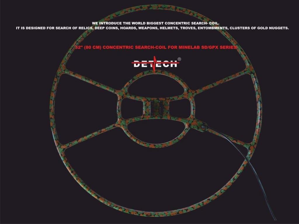 """Нова 80см. /32""""/ сонда на DETECH за Minelab GPX Fb_img19"""