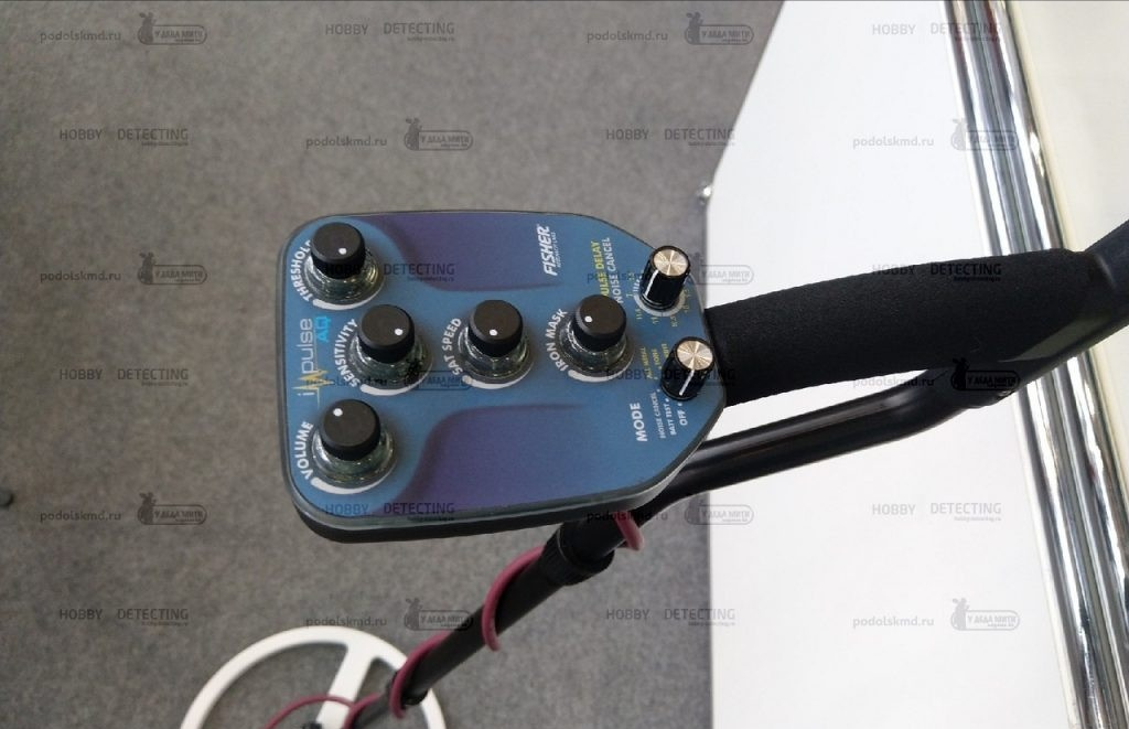 Пулс-индукционен металотърсач Fisher Impulse AQ Img_2056