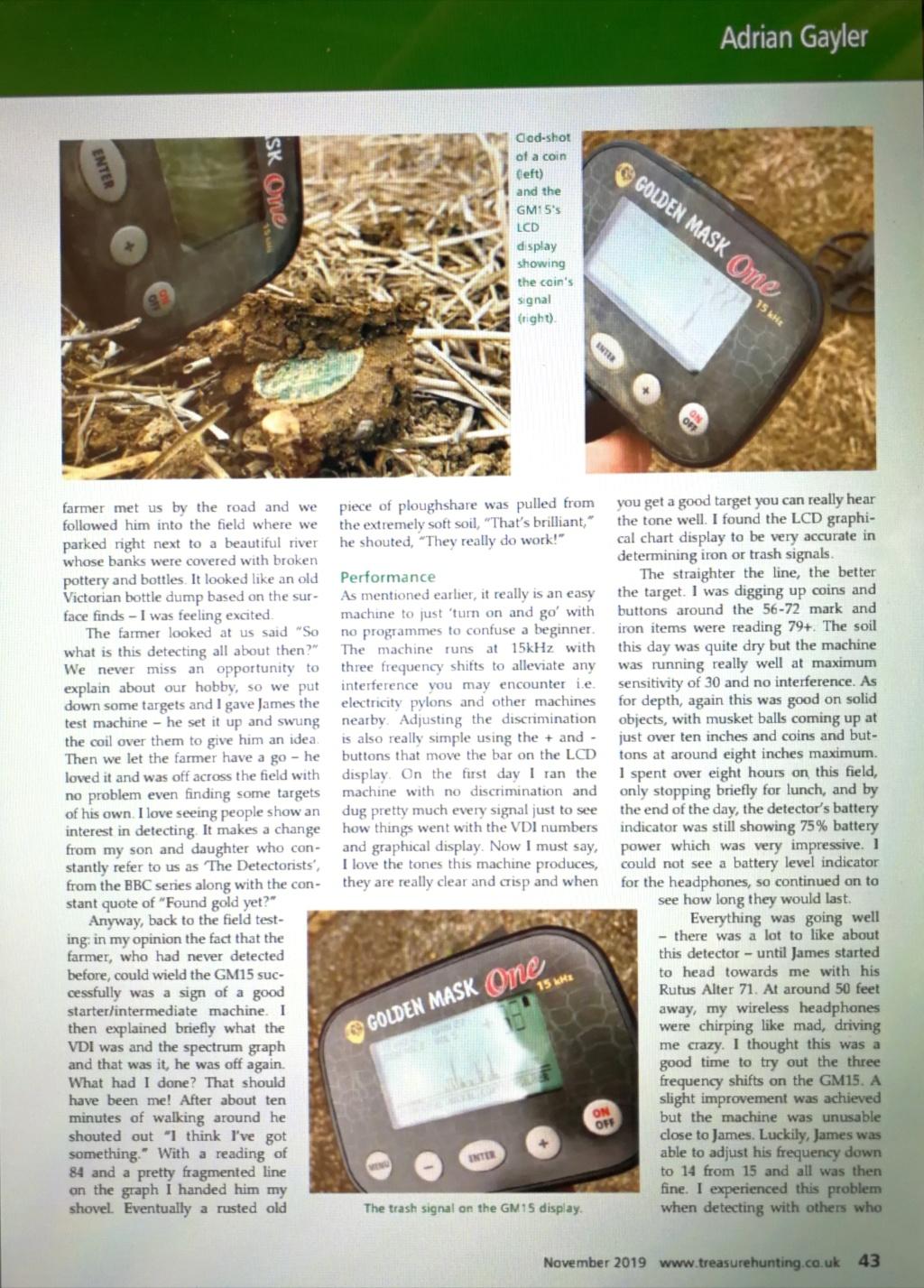 Презентация в списание #Treasure Hunting Golden Mask ONE  Img_2079