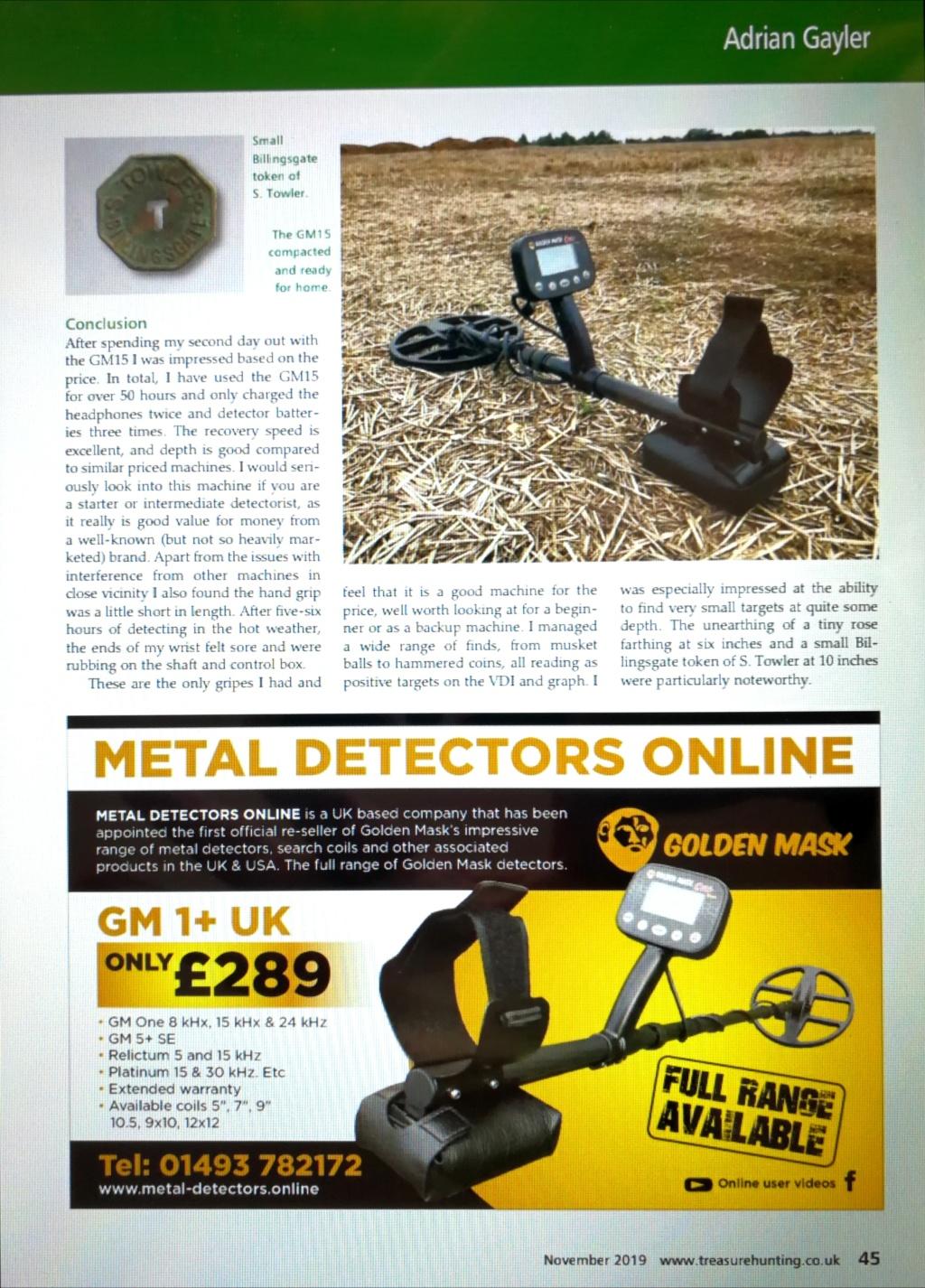 Презентация в списание #Treasure Hunting Golden Mask ONE  Img_2082