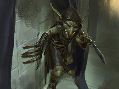 Goblin [T. Goblinoide] [L. Cualquiera] [M. Fácil] Goblin14