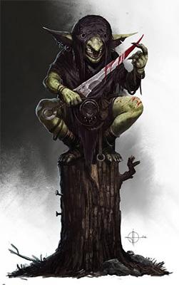 Goblin [T. Goblinoide] [L. Cualquiera] [M. Fácil] Goblin15