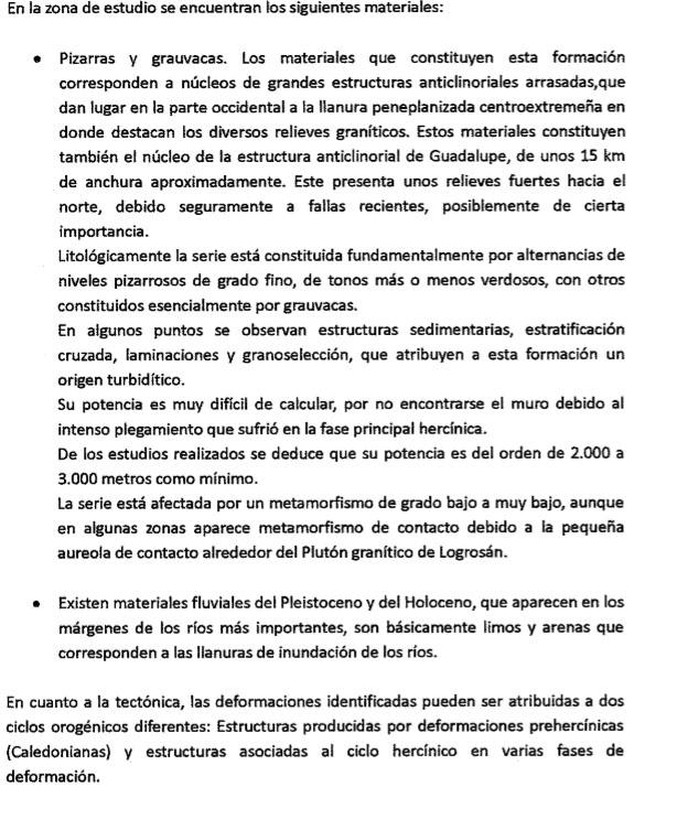 Prospecciones mineras en Cañamero Mp910