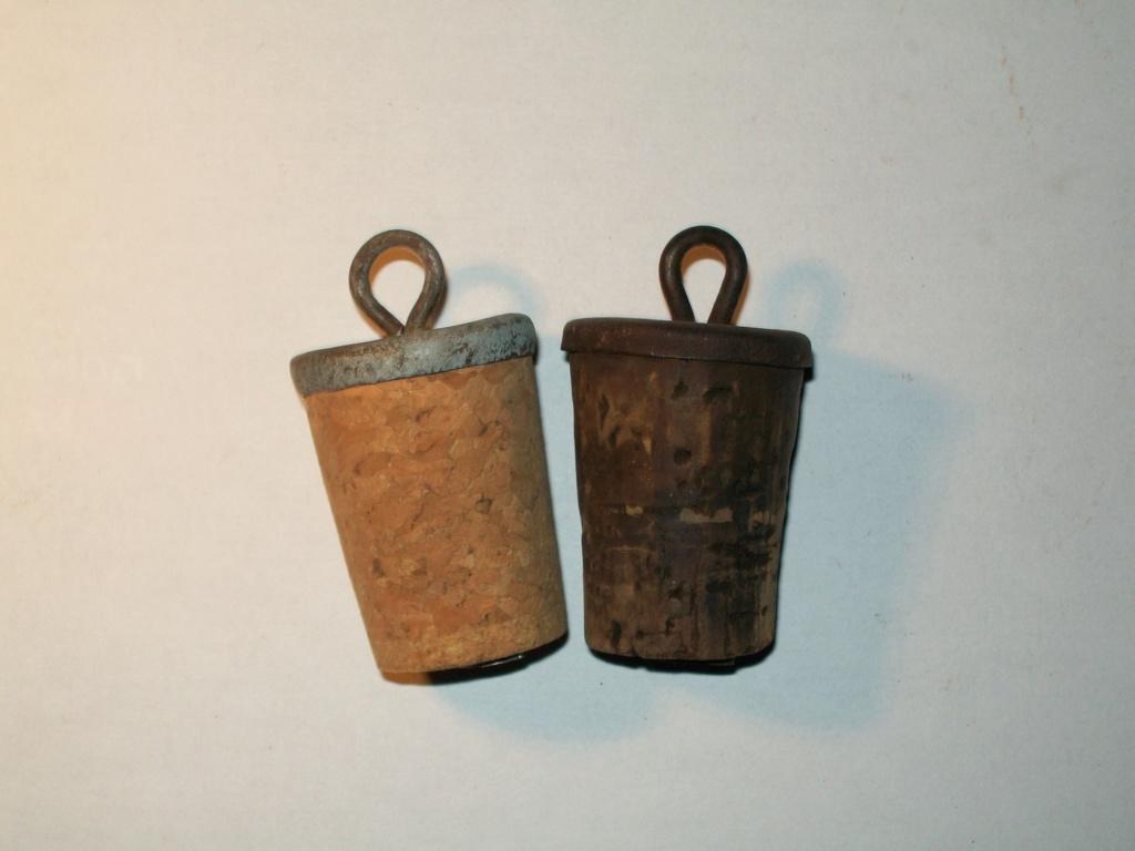 Deux types de bouchons. 100_5819
