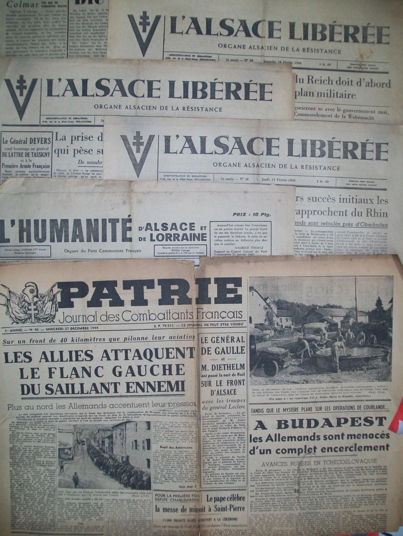 Mai-septembre 1945 : les journaux de la fin de la Seconde Guerre mondiale 100_6477