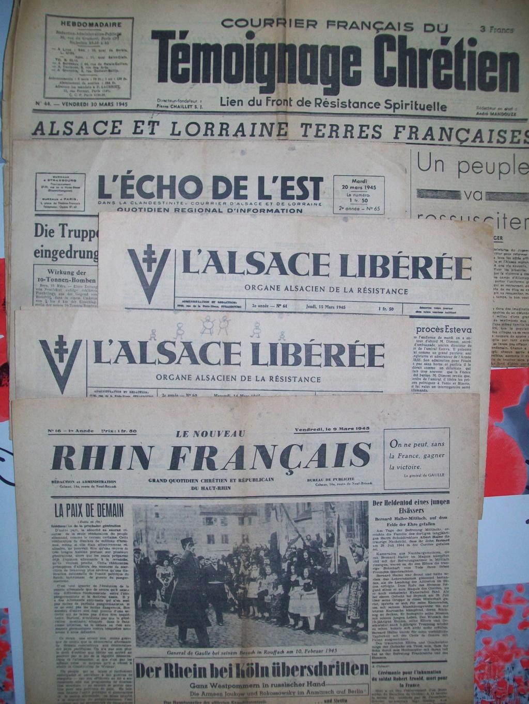 Mai-septembre 1945 : les journaux de la fin de la Seconde Guerre mondiale 100_6479