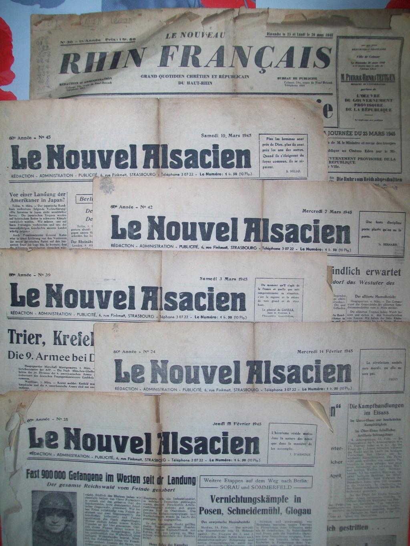 Mai-septembre 1945 : les journaux de la fin de la Seconde Guerre mondiale 100_6481