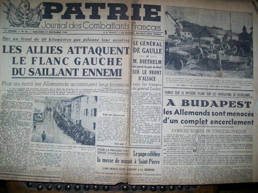 Mai-septembre 1945 : les journaux de la fin de la Seconde Guerre mondiale 100_6510