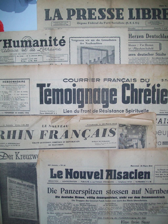 Mai-septembre 1945 : les journaux de la fin de la Seconde Guerre mondiale 100_6511