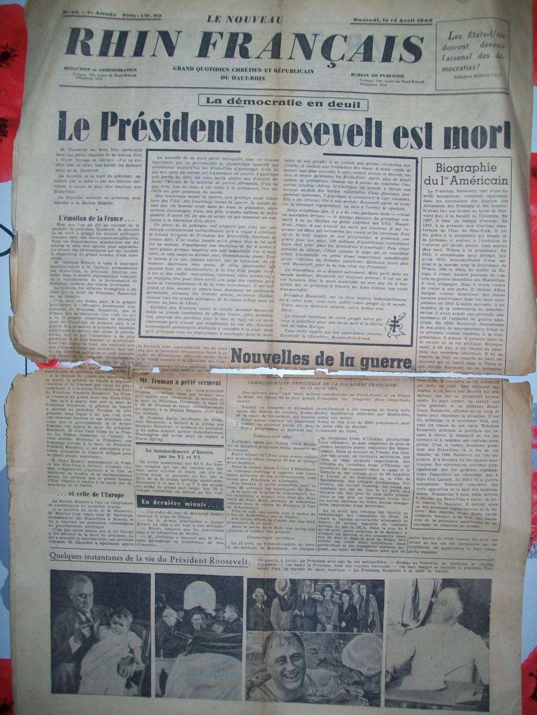 Mai-septembre 1945 : les journaux de la fin de la Seconde Guerre mondiale 100_6513