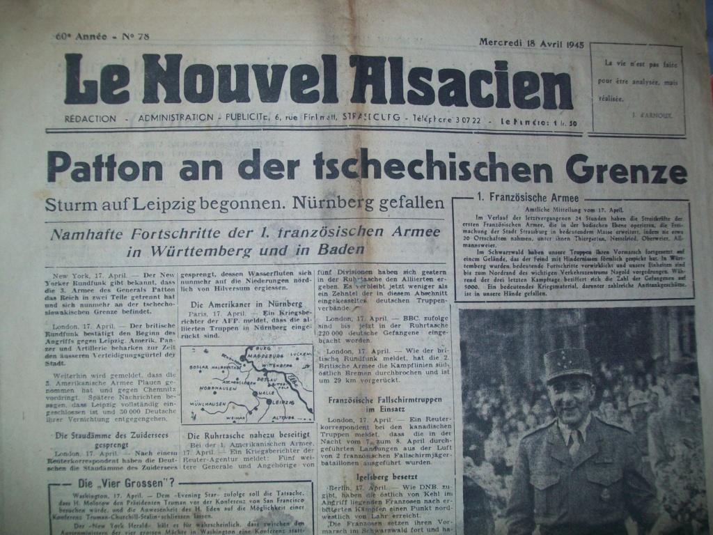 Mai-septembre 1945 : les journaux de la fin de la Seconde Guerre mondiale 100_6514