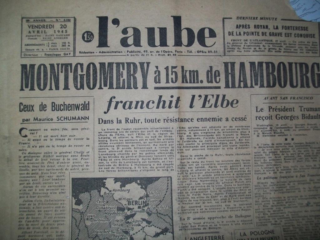 Mai-septembre 1945 : les journaux de la fin de la Seconde Guerre mondiale 100_6515