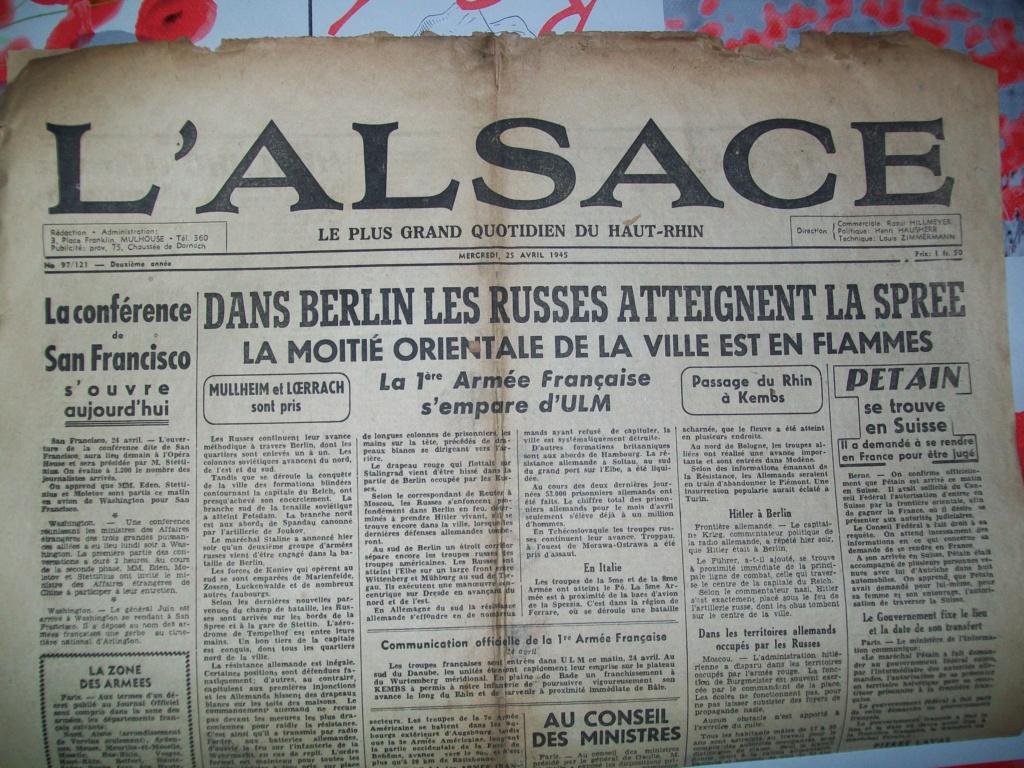 Mai-septembre 1945 : les journaux de la fin de la Seconde Guerre mondiale 100_6516