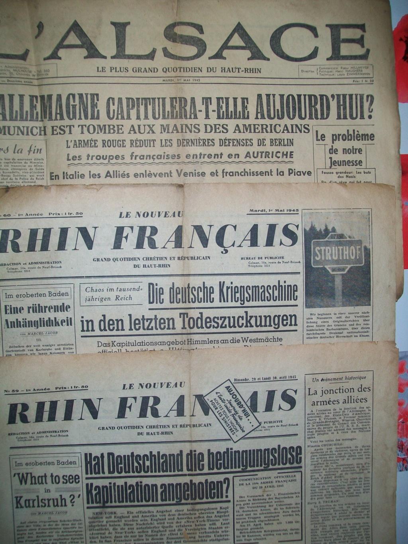 Mai-septembre 1945 : les journaux de la fin de la Seconde Guerre mondiale 100_6519