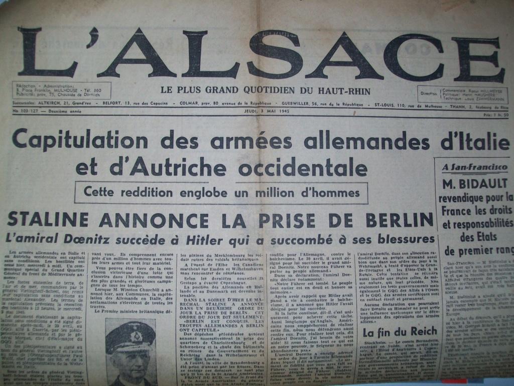 Mai-septembre 1945 : les journaux de la fin de la Seconde Guerre mondiale 100_6520