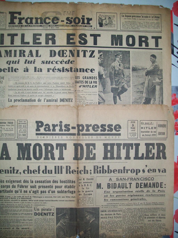 Mai-septembre 1945 : les journaux de la fin de la Seconde Guerre mondiale 100_6521