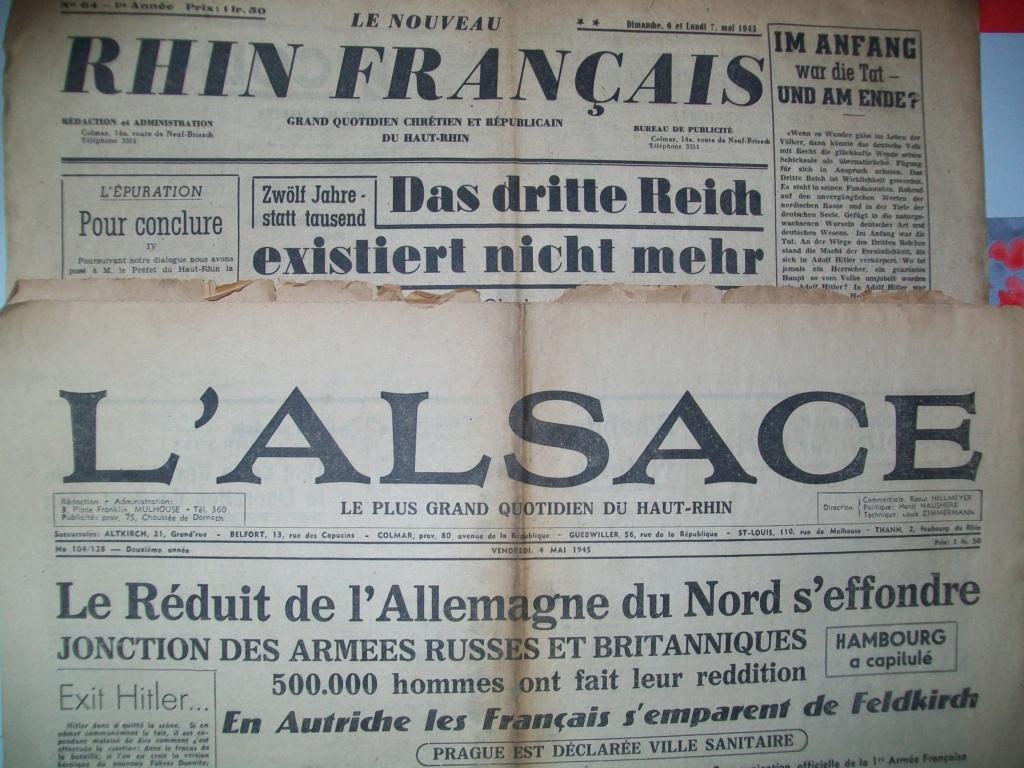 Mai-septembre 1945 : les journaux de la fin de la Seconde Guerre mondiale 100_6522