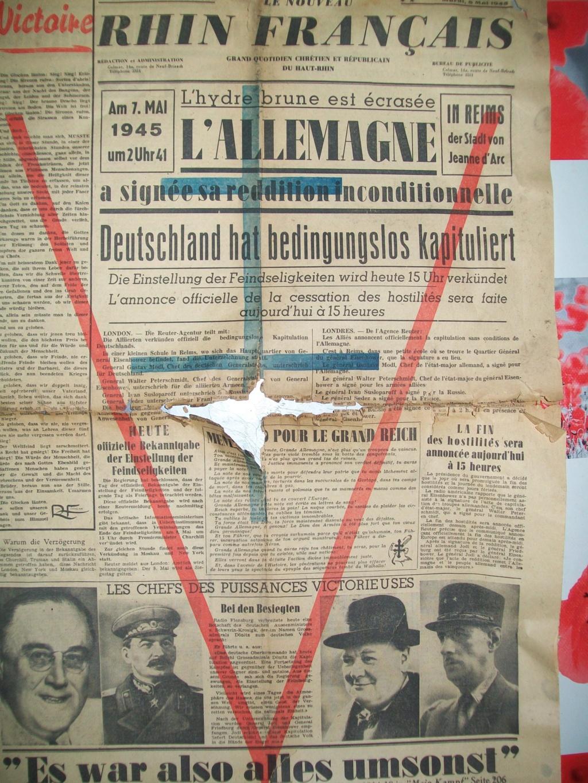 Mai-septembre 1945 : les journaux de la fin de la Seconde Guerre mondiale 100_6523