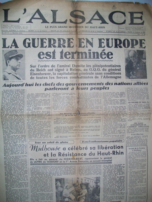 Mai-septembre 1945 : les journaux de la fin de la Seconde Guerre mondiale 100_6524